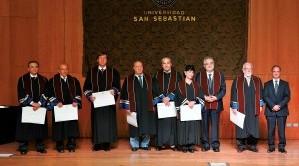 Universidad San Sebastián invistió a nuevos Profesores Titulares
