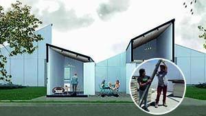 Proyecto desarrollo constructivo de vivienda social sustentable- Casa Patio