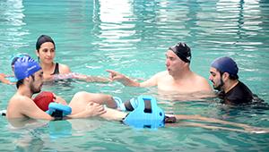 Proyecto terapia acuática para personas con discapacidad