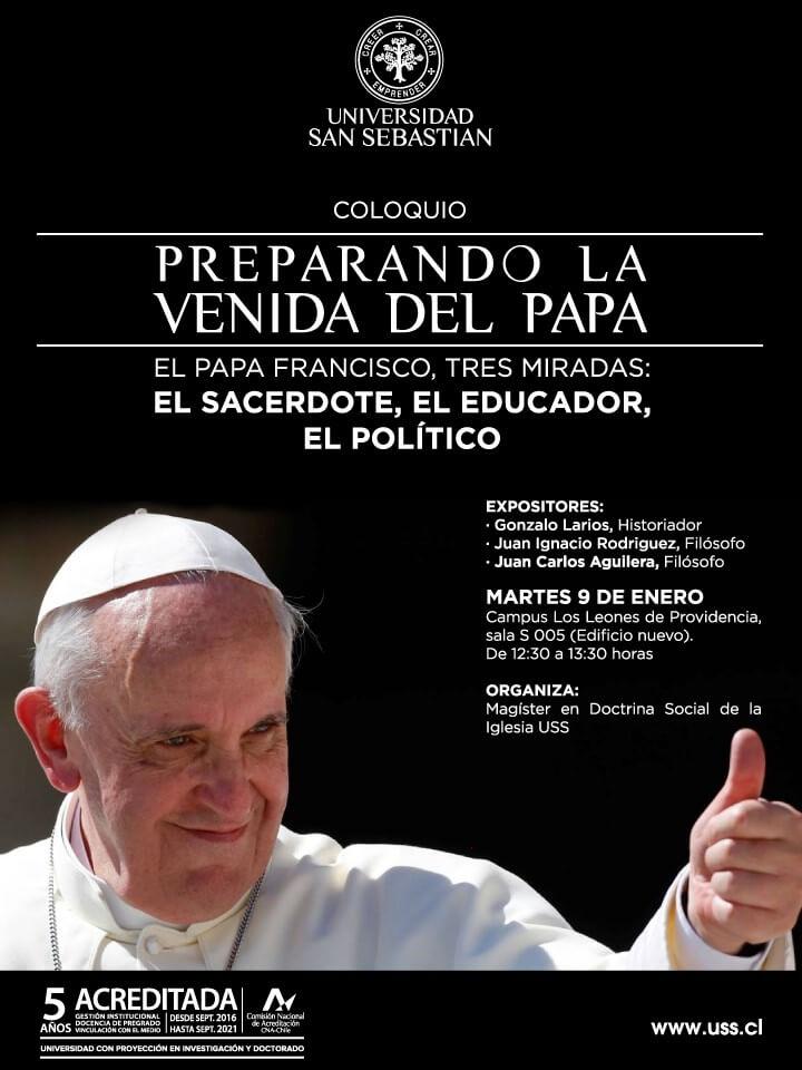 Coloquio Preparando la venida del papa