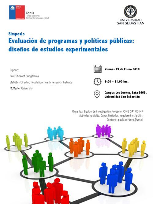 Simposio Evaluación de programas y políticas públicas diseño de estudios experimentales