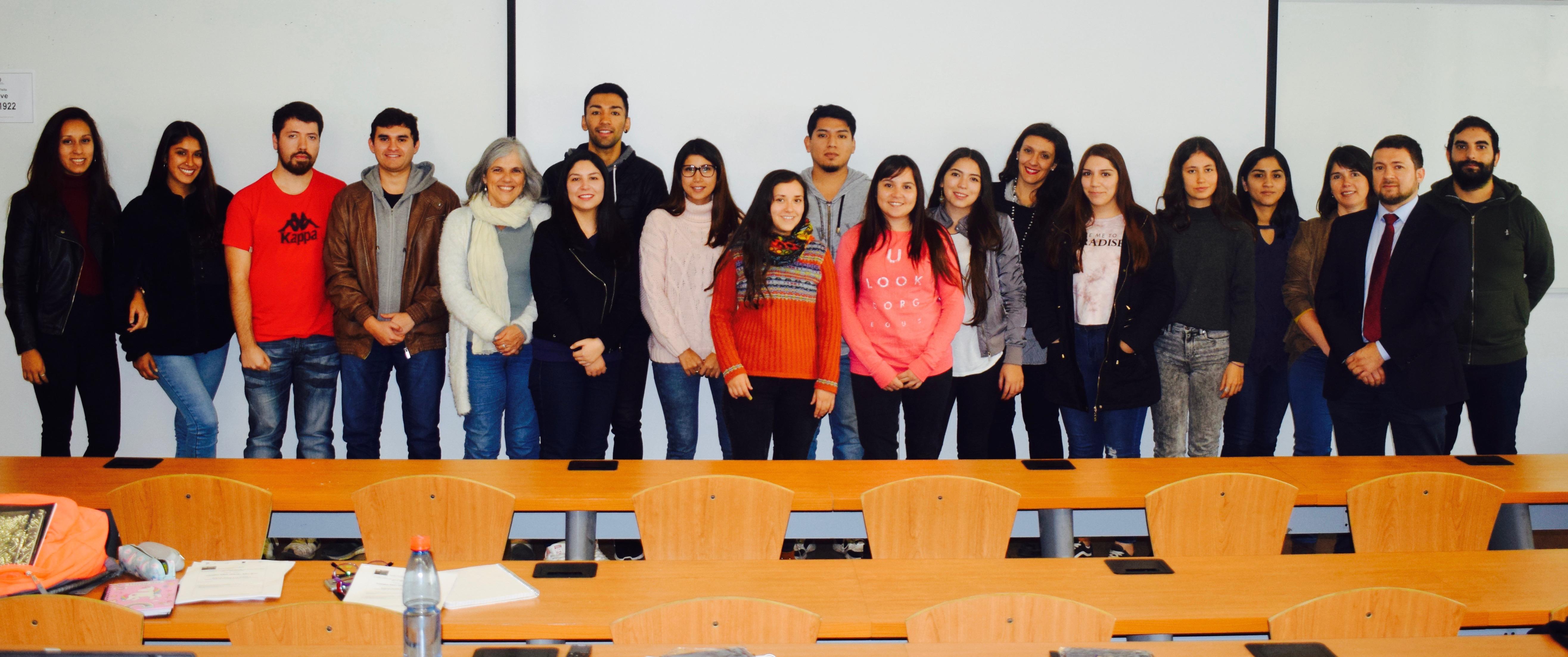 Estudiantes y Académicos USS.