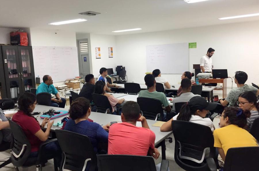 Beca Alianza Pacífico: Académico USS realiza actividades en Colombia