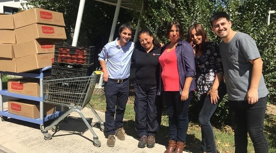 Universidad San Sebastián entregó alimentos a distintas fundaciones del país