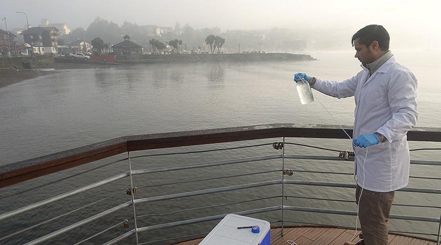 USS inicia iniciativa FIC con muestreo de agua en el Lago Llanquihue