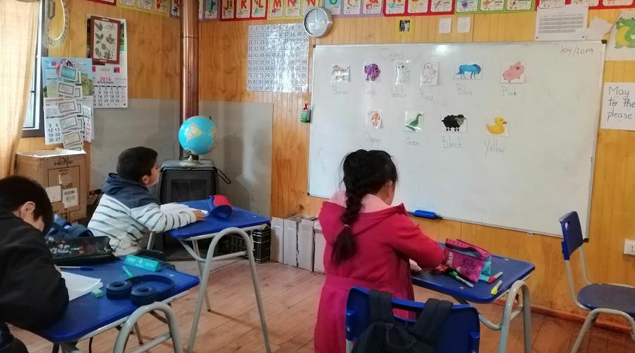 Estudiantes USS realizan cruzada para conectar a escolares de Purén
