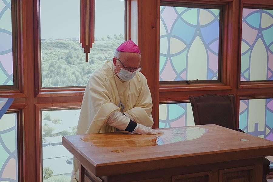 Sede De la Patagonia realiza consagración de su capilla universitaria
