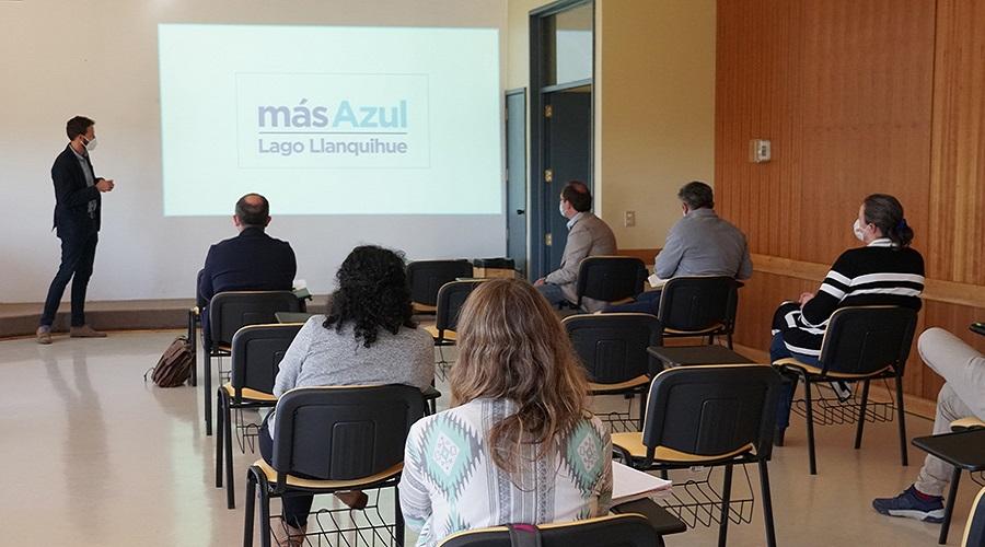 Presentan Proyectos Territoriales Hito a directores de carrera en Puerto Montt