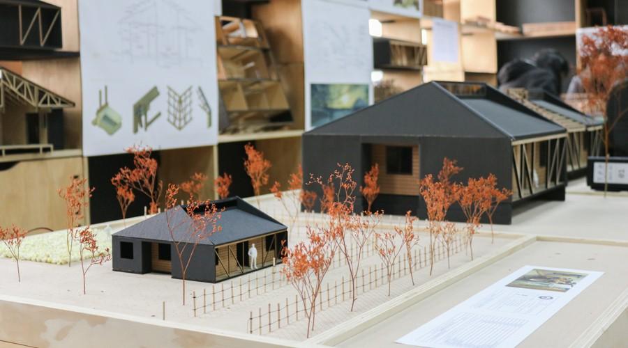 Casa Colmena, creada por estudiantes de Arquitectura USS, será realidad para 17 familias