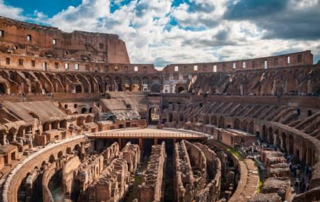 Cultura USS: Italia, Roma y el Coliseo a un clic de distancia