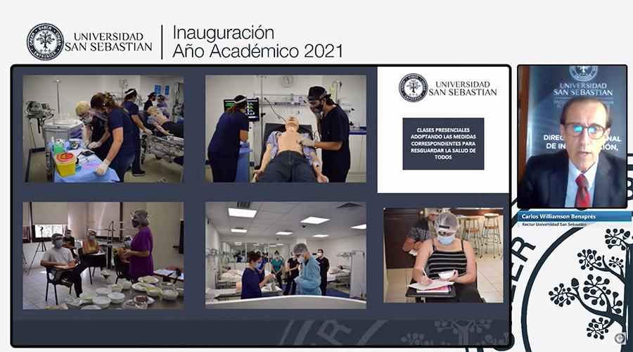 Rol de la ciencia y aporte de USS en la pandemia se abordaron en Inauguración de Año Académico 2021