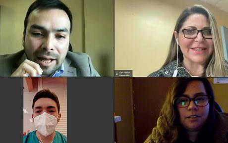 Mi aprendizaje en VcM: sede Concepción da a conocer proyectos colaborativos a sus estudiantes