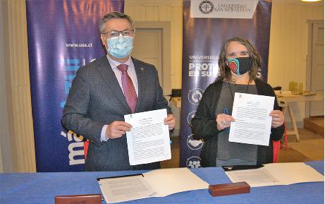 U. San Sebastián y Cuenca Sostenible se unen para la protección del lago Llanquihue