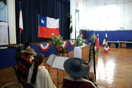Con misa a la chilena, USSinicialas celebraciones patrias