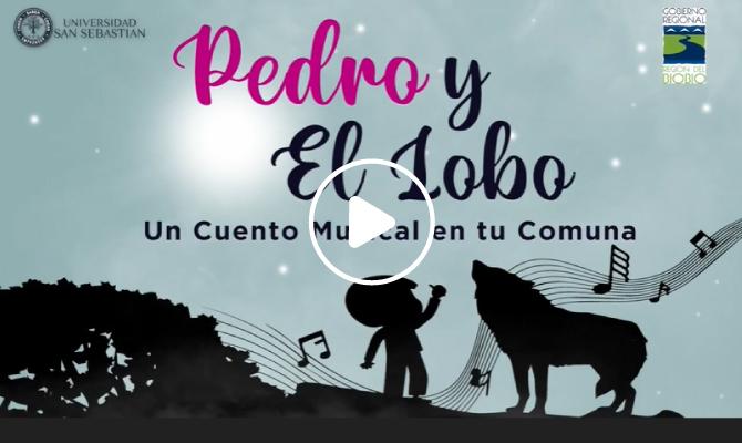 Pedro y el lobo un cuento musical en tu comuna Universidad San Sebastian