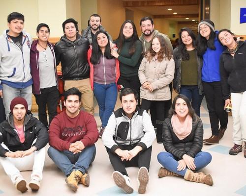 Integrantes del Equipo de Ruta Calle 2018 en la Sede De la Patagonia.
