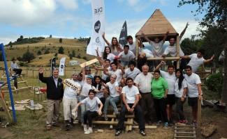 Los Trabajos de Verano 2015 se realizaron en Ensenada en la comuna de Lago Ranco.