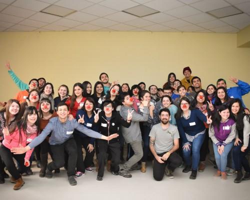 Fotografía Oficial | Equipo de Clown Hospitalario Universidad San Sebastián Sede De la Patagonia.