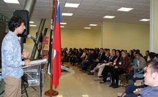 Más de 300 alumnos de Coronel se dieron cita en el encuentro en la USS Concepción.