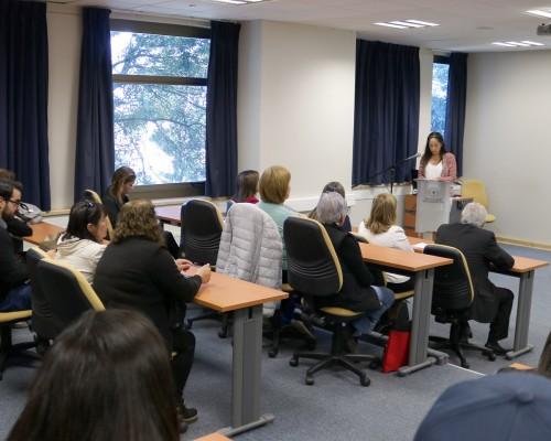 El encuentro se realizó en el Auditorio Gladys Matus del Campus Las Tres Pascualas.
