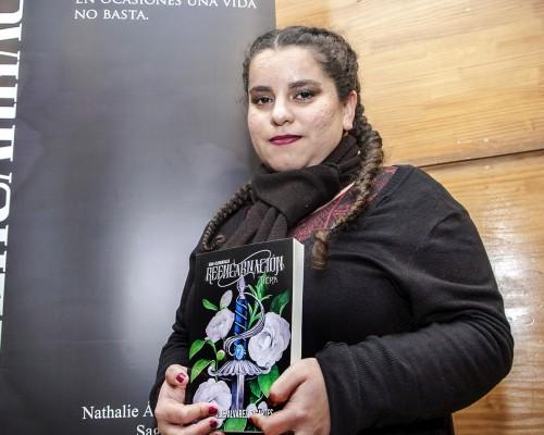 Nathalie Álvarez tiene a su haber dos textos de la saga. Se encuentra trabajando en el tercero.