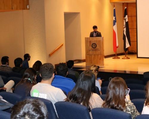 El encuentro se realizó en el Auditorio Marta Montory del Campus Las Tres Pascualas.
