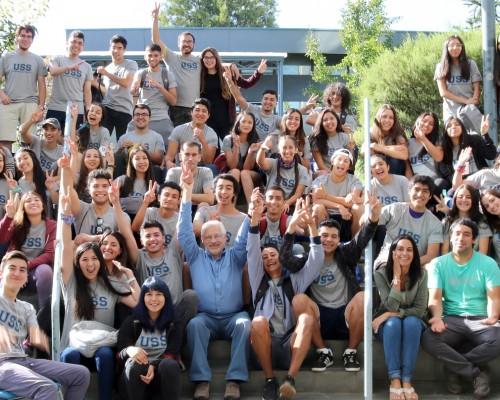 Más de cincuenta nuevos estudiantes acudieron a la invitación solidaria cursada por la USS Concepción.