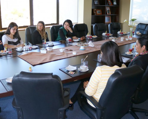 La actividad contó con la presencia de integrantes del Comité de Egresadas de Trabajo Social.