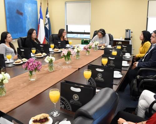 El encuentro fue dirigido por las profesionales de la Red de Egresados.