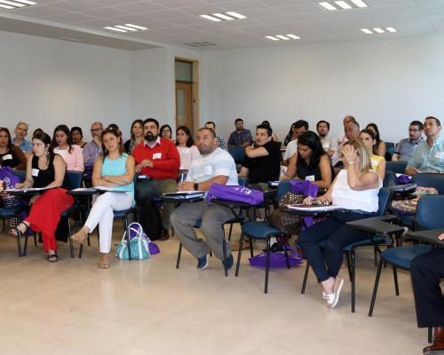 Cincuenta académicos formaron parte de la capacitación de CREAR.