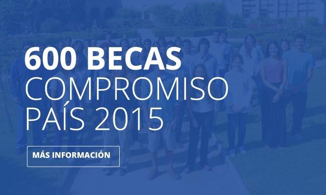 600 Becas Compromiso País