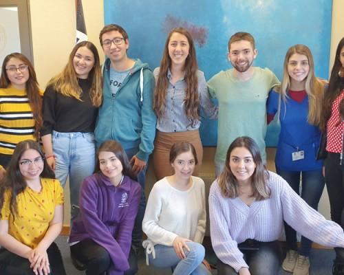 USS Concepción despidió a sus estudiantes extranjeros de 2do semestre