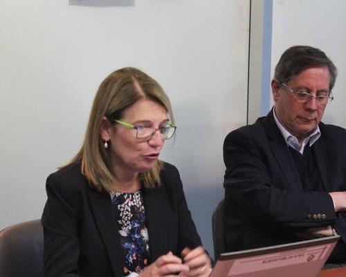 Nuria Grané, vicerrectora de Estudiantes y Empleo de la universidad española, abordó la relevancia de una cultura inclusiva en la educación superior.