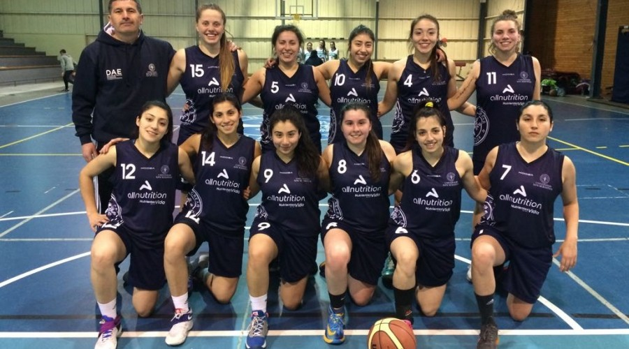 Básquetbol damas Patagonia