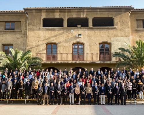 Foto oficial Claustro Académico sede Santiago 2018.