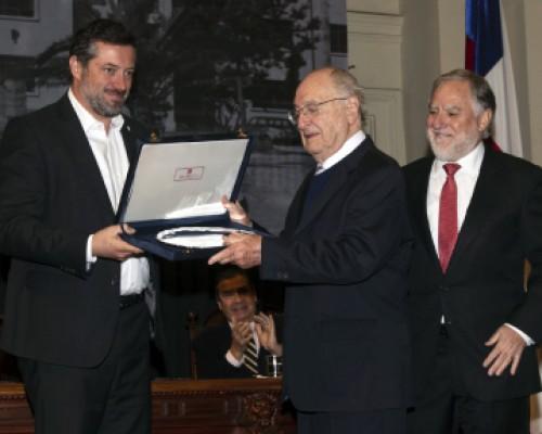 Ceremonia de los 85 años Fundación Ciudad del Niño y premio a Doctor Monckeberg