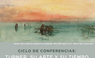 Ciclo Conferencias sobre JW Turner- Gonzalo Larios
