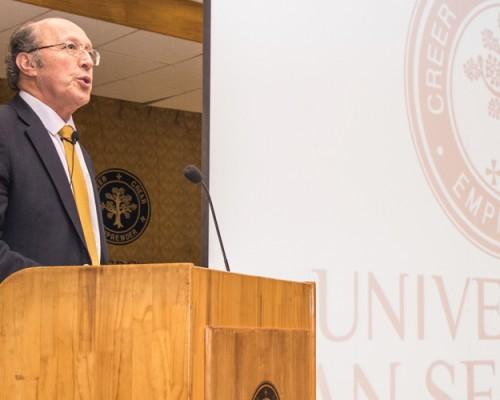 Presidente de la Junta Directiva USS inauguró Año Académico en Concepción