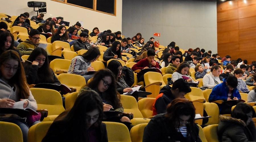 Más de 4 mil estudiantes participaron en Ensayo Nacional PSU