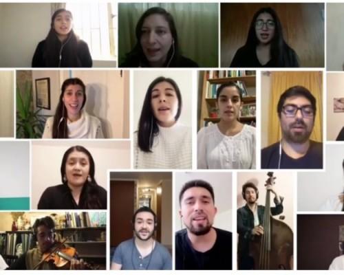 Elenco 2020 del Coro de la USS Concepción realizó video interpretativo