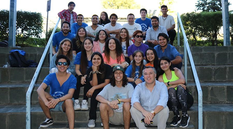 Escuela de Liderazgo realizó actividades de bienvenida en USS Concepción