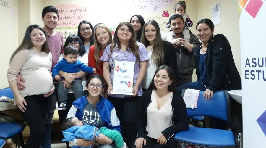 Taller de lactancia materna para estudiantes se realizó en USS Concepción