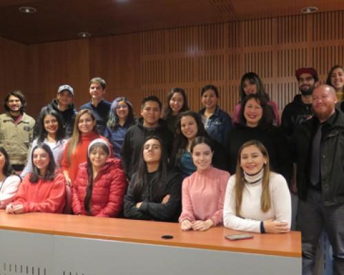 Estudiantes de intercambio 1S 2019 P