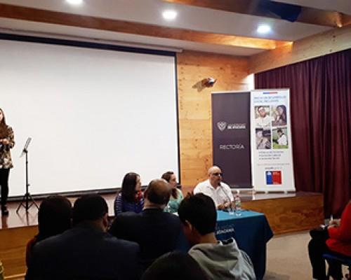 Exposición durante el encuentro de Resi Chile imagen destacada
