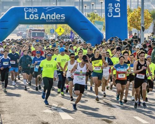 Ochocientos corredores se dieron cita en la corrida.