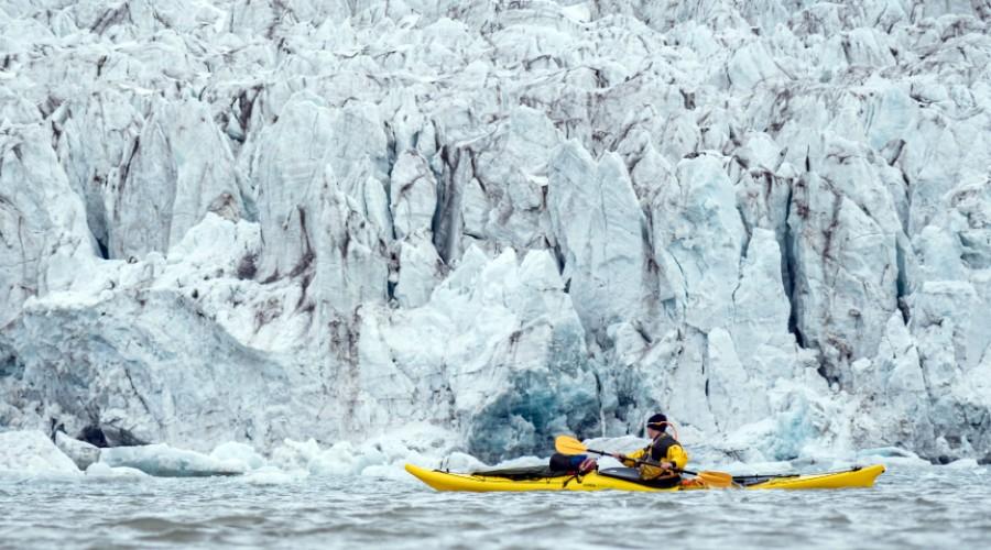 Formado en la USS: El instructor de kayak más austral del planeta
