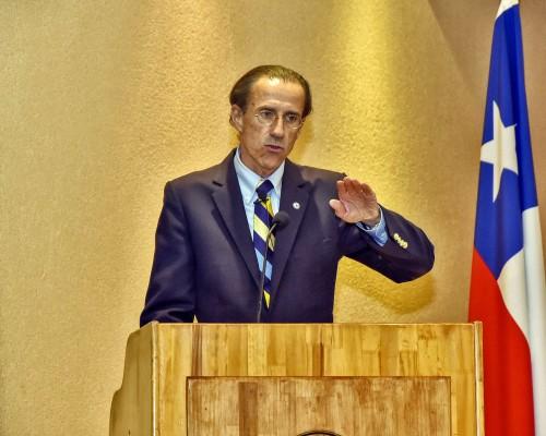 El rector  de la Universidad San Sebastián, Carlos Williamson, inauguró el año académico en la Sede Concepción de esta casa de estudios