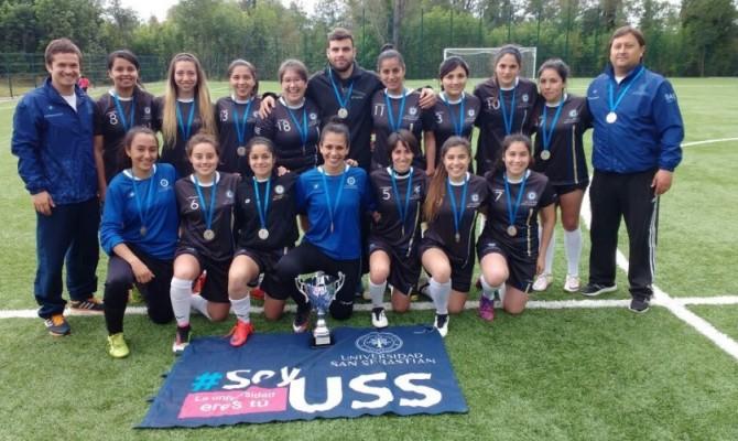 Futbol Femenino USS logra 2 lugar en el Campeonato FENAUDE