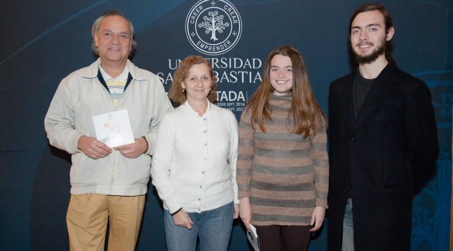 George Pinto, Adriana Irazoqui, Isadora Pinto, Cristóbal Pinto. (2)