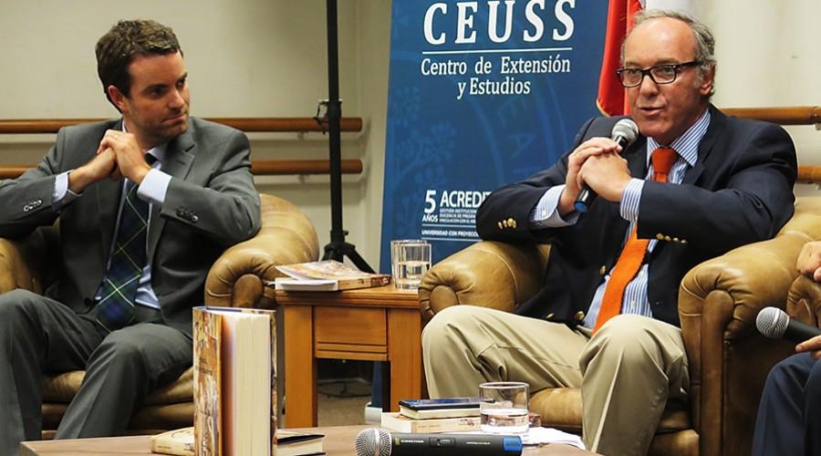 Gonzalo Larios y José Manuel Cerda